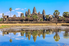 Angkor Wat η Καμπότζη συγκεντρώνει siem Στοκ φωτογραφία με δικαίωμα ελεύθερης χρήσης