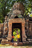 Angkor Wat - η περιοχή παγκόσμιων κληρονομιών της ΟΥΝΕΣΚΟ κοντά σε Siem συγκεντρώνει, Καμπότζη Στοκ Φωτογραφίες