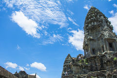 Angkor Wat η banteay λίμνη της Καμπότζης angkor lotuses συγκεντρώνει siem το ναό srey Καμπότζη Στοκ Εικόνες