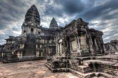 Angkor Wat - διάσημο ορόσημο της Καμπότζης Στοκ Εικόνες