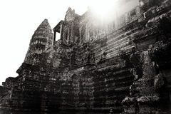 Angkor Wat Καμπότζη αρχαία αρχιτεκτονική Στοκ Εικόνες