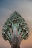 Angkor wat Καμπότζη φιδιών αγαλμάτων Mucalinda Στοκ Εικόνες