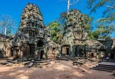 Angkor wat Καμπότζη TA prohm Στοκ εικόνες με δικαίωμα ελεύθερης χρήσης