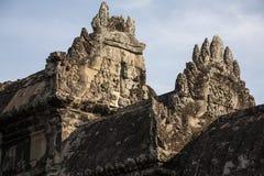 Angkor Wat μέσα στη λεπτομέρεια. Καμπότζη Στοκ εικόνα με δικαίωμα ελεύθερης χρήσης