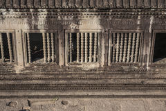Angkor Wat μέσα στη λεπτομέρεια. Καμπότζη Στοκ εικόνες με δικαίωμα ελεύθερης χρήσης