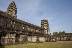 Angkor Wat μέσα στη λεπτομέρεια. Καμπότζη Στοκ φωτογραφίες με δικαίωμα ελεύθερης χρήσης