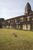 Angkor Wat μέσα στη λεπτομέρεια. Καμπότζη Στοκ Φωτογραφίες