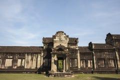 Angkor Wat μέσα στη λεπτομέρεια. Καμπότζη Στοκ Εικόνες