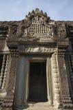 Angkor Wat μέσα στη λεπτομέρεια. Καμπότζη Στοκ Φωτογραφία