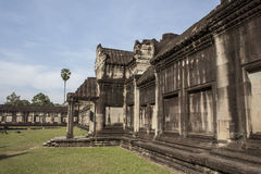 Angkor Wat μέσα στη λεπτομέρεια Στοκ Φωτογραφίες