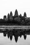 Angkor Wat με την αντανάκλαση Στοκ Εικόνες
