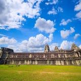 Angkor Wat ο αρχαίος βουδιστικός και ινδός ναός σύνθετος Στοκ εικόνες με δικαίωμα ελεύθερης χρήσης