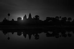 Angkor Wat σε γραπτό, Καμπότζη Στοκ εικόνα με δικαίωμα ελεύθερης χρήσης