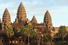 Angkor Wat στα ξημερώματα Στοκ εικόνες με δικαίωμα ελεύθερης χρήσης