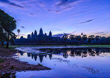 Angkor Wat στην ανατολή Στοκ Εικόνες