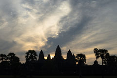 Angkor Wat στην ανατολή Στοκ εικόνα με δικαίωμα ελεύθερης χρήσης
