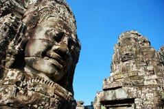 Angkor Wat στο φως ήλιων πρωινού Στοκ Φωτογραφία
