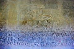 Angkor Wat στο φως ήλιων πρωινού Στοκ φωτογραφία με δικαίωμα ελεύθερης χρήσης