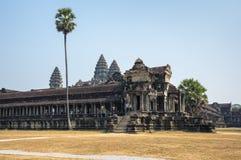 Angkor Wat σύνθετο Στοκ Φωτογραφία