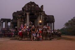 Angkor Wat σύνθετο Στοκ εικόνες με δικαίωμα ελεύθερης χρήσης