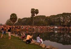 Angkor Wat σύνθετο Στοκ Φωτογραφίες