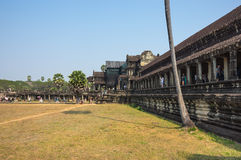 Angkor Wat σύνθετο Στοκ φωτογραφία με δικαίωμα ελεύθερης χρήσης