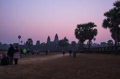 Angkor Wat σύνθετο Στοκ φωτογραφίες με δικαίωμα ελεύθερης χρήσης