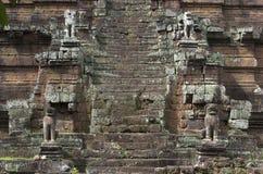 Angkor Wat. Το Siem συγκεντρώνει. Καμπότζη Στοκ εικόνες με δικαίωμα ελεύθερης χρήσης