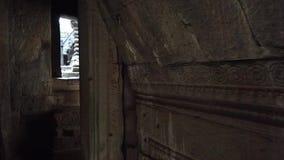 Angkor Wat внутри своих стен акции видеоматериалы