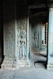 Angkor Wat в свете солнца утра Стоковое фото RF