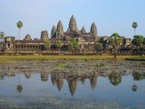 Angkor Wat, Камбоджа Стоковые Фотографии RF