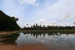 Angkor Wat, Камбоджа Стоковое фото RF