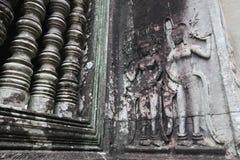 Angkor Wat, Камбоджа Стоковое Изображение RF