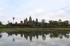 Angkor Wat, Камбоджа Стоковое Фото