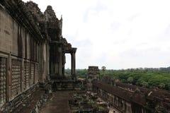Angkor Wat, Камбоджа Стоковая Фотография