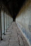 Angkor Wat. Interior View of Angkor Wat stock images