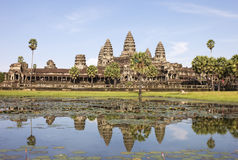 Angkor wat. The world's largest religious monument Stock Photography