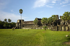 Angkor wat. The world's largest religious monument Royalty Free Stock Photo