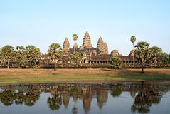 Angkor Wat. Temple before sunset, Siem Reap, Cambodia Royalty Free Stock Photo