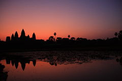 Angkor wat. In the morning Stock Image