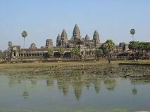 Angkor Wat Royalty Free Stock Photography