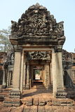 Angkor Wat. Famous Angkor Wat ruins. Cloudless day stock photography