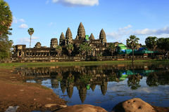 Angkor Wat. Of Siem Reap stock photography