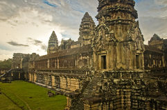 Angkor Wat Royalty-vrije Stock Foto's