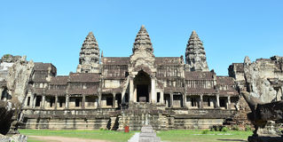 Angkor wat. In cambodia siem reap stock photography