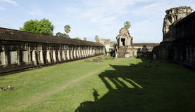Angkor wat. Ankor wat style temple built in the second half of the 12th century in cambodia siem reap ankorian period Stock Photography