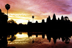 Angkor Wat Royalty Free Stock Photo