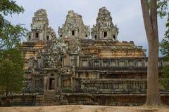 Angkor Wat - Камбоджа Стоковое Изображение RF