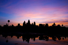 Angkor Wat Lizenzfreies Stockfoto