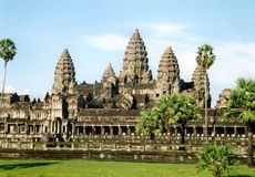 Angkor Wat. The famous temple of Angkor Wat in Cambodia